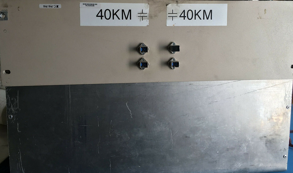 Corning SMF-28 single mode fiber 40km+40km w conectors in box