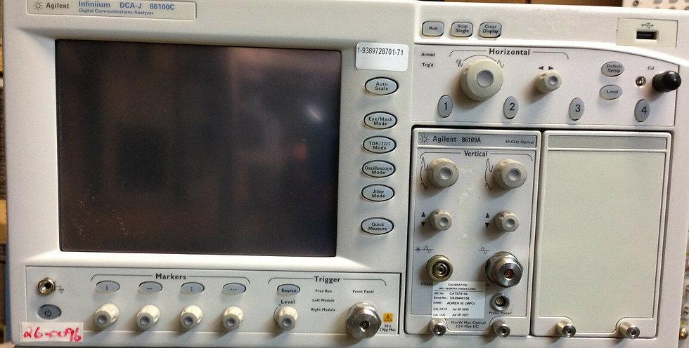 Agilent 86100C Infiniium DCA Oscilloscope Mainframe w 001,092,201