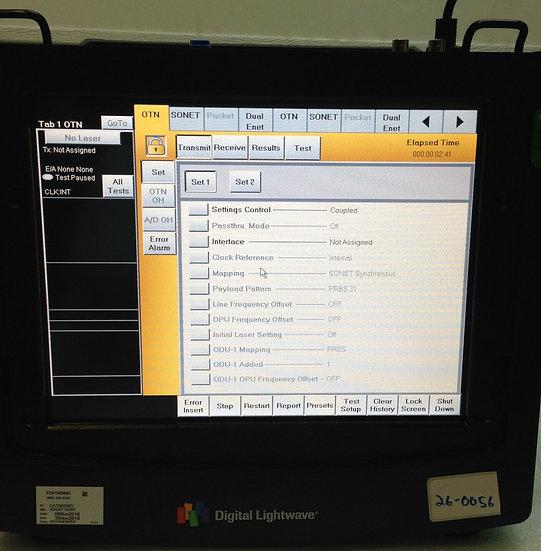 Digital Lightwave NIC PLUS NXG NL81B PORTABLE NETWORK INFORMATION