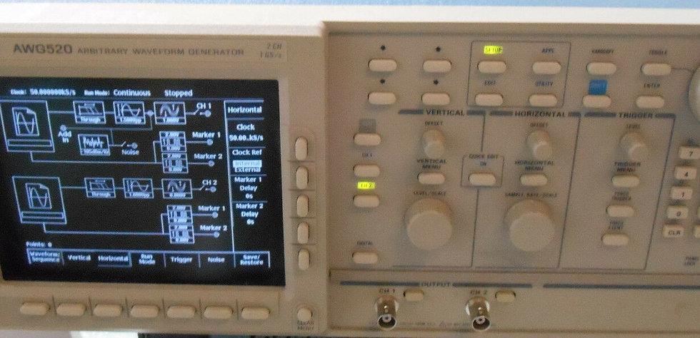 Tektronix AWG520 Arbitrary Waveform Generator