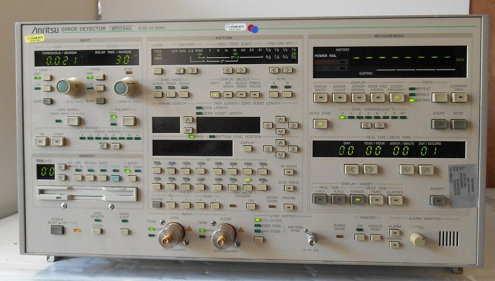 ANRITSU MP1764A Error Detector .05-12.5 Ghz with opt 01