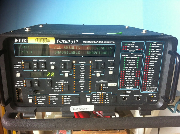 TTC T-BERD 310 Communications Analyzer  with Options