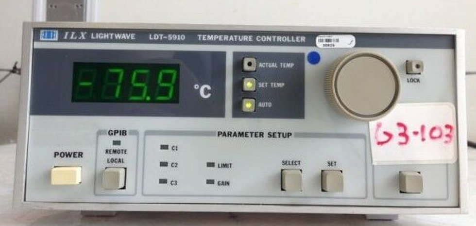 ILX Lightwave LDT-5910 Benchtop Thermoelectric Temperature Controller Unit