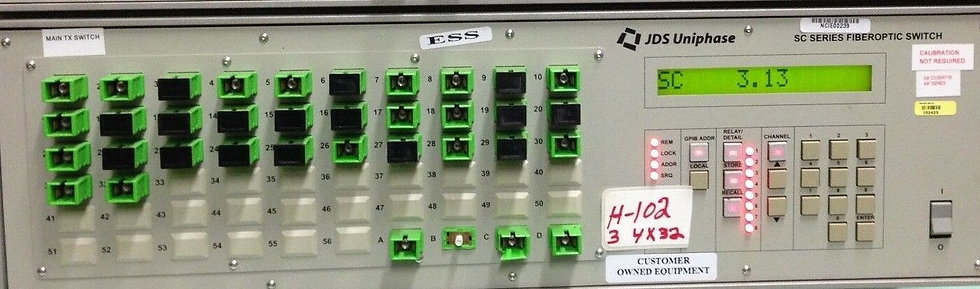 JDS Uniphase SC0432+27XZ000612 SC Series Fiber Optical Switch