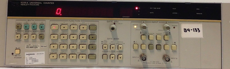 AGILENT HP 5335A Universal Counter 200 MHz