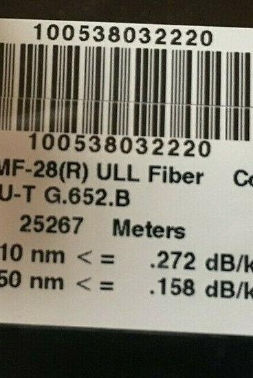 Corning  SMF-28(R) ULL FIBER  Optical Bare Fiber 1000km  W LC connector