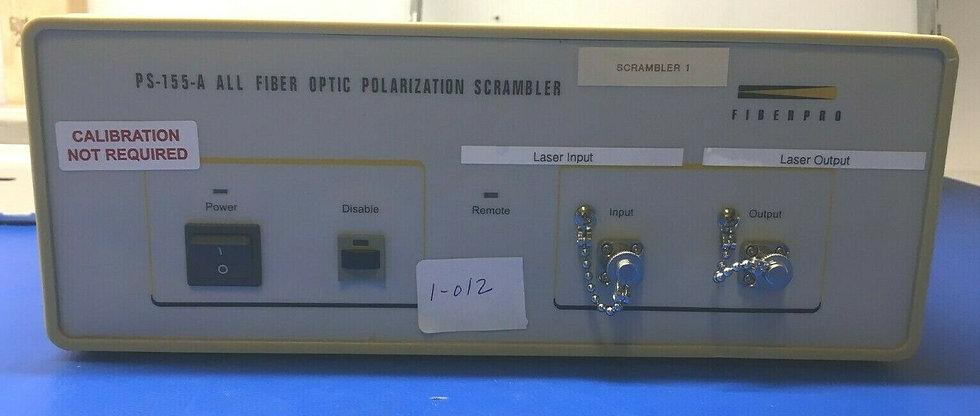 FiberPro PS-155A Fiber Optic Polarization Scramble