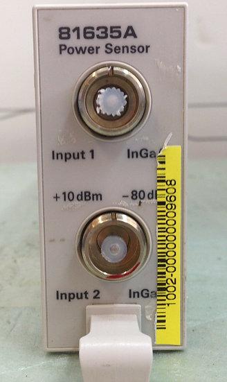 Agilent 81635A Dual Lightwave Optical Power Sensor Module