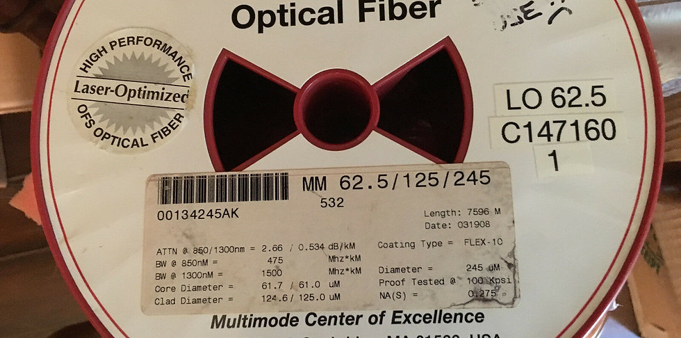 Mutimode Optical Bare Fiber 7596 meters