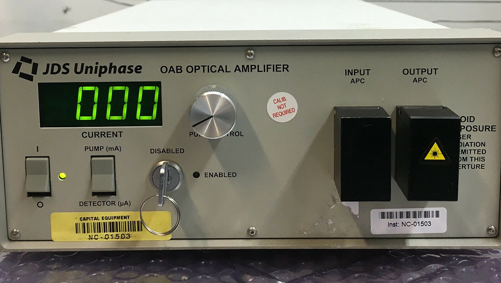 JDS Uniphase  OAB 1554+1FA2  Erbium-Doped Fiber Amplifier