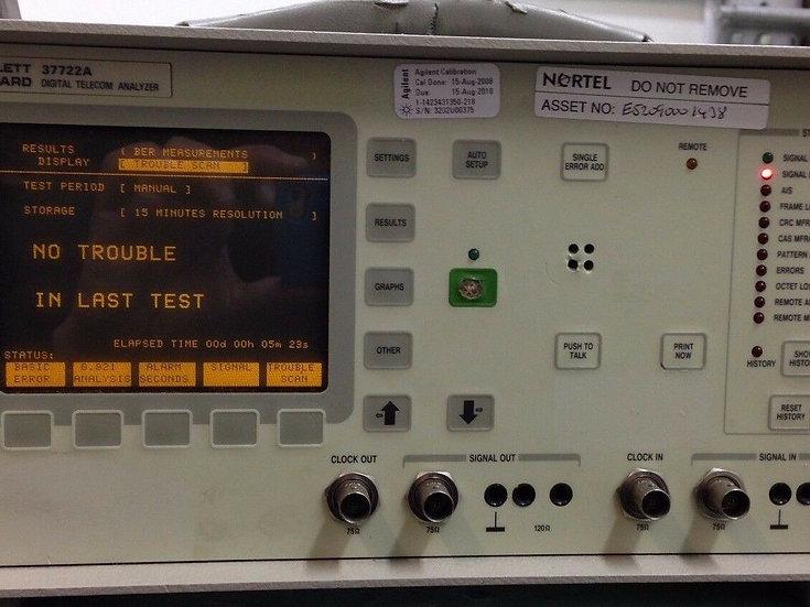 HP 37722A Digital Telecom Analyzer