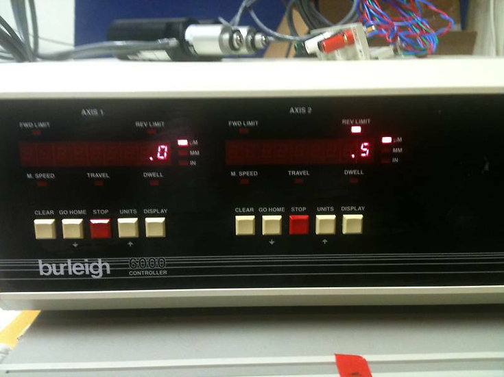 Burleigh PCS-6000 / 6100 Controller and fixture