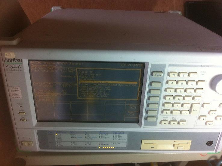 Anritsu ME3620A-ME0301A- ME0315D-ME0314B SDH/Sonet Analyzer Transmitter w/ 2.5 J