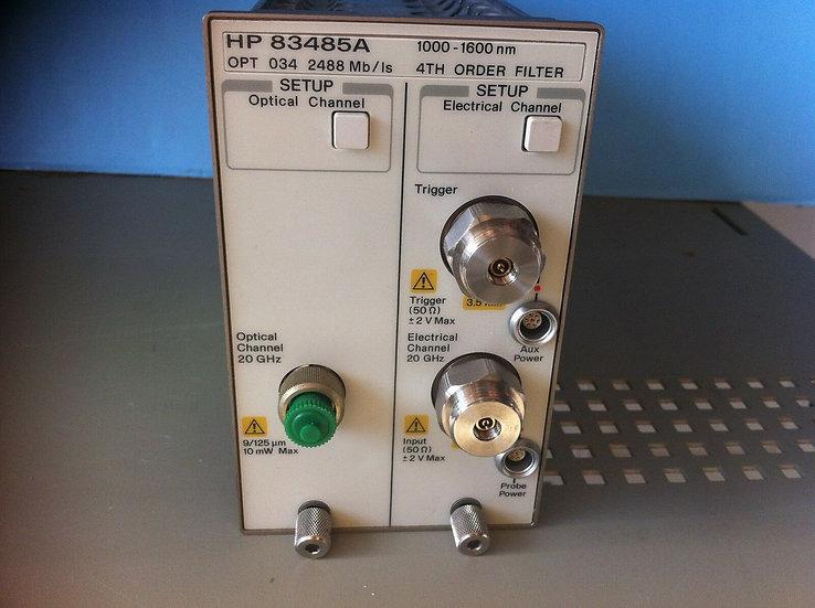 Agilent/ HP 83480A /  83485A  w 034 Optical Plug In Module