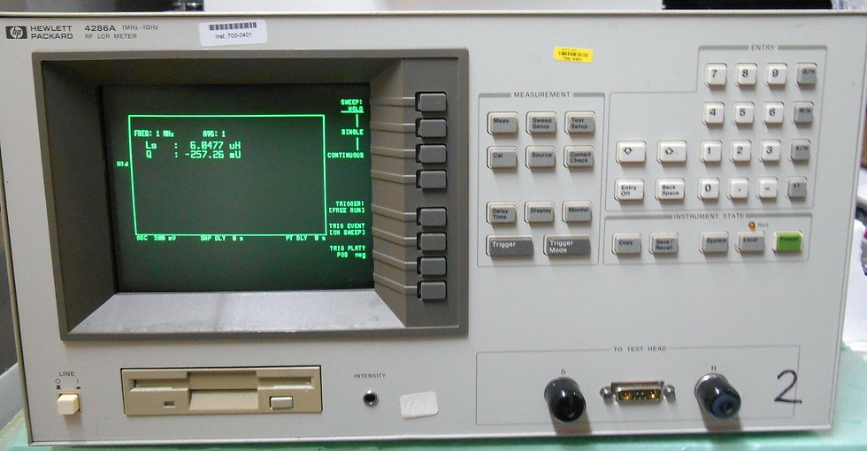 Agilent / HP 4286A  with option  004
