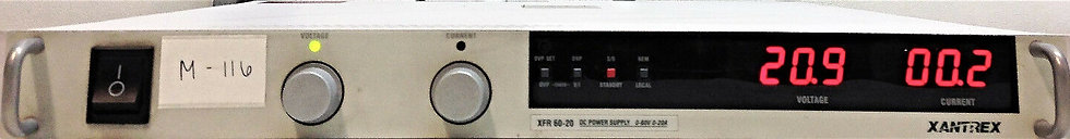 Xantrex XFR60-20 Programmable DC Power Supply 0-60V and 0-20A