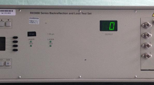 JDSU RX3008+Z0001  Backreflect Meter