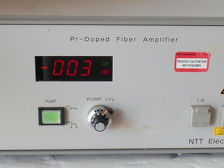 NTT Electronics FA1300SSF Pr-dopped Fiber Amplifier