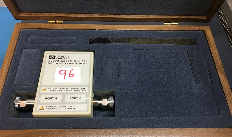 Agilent HP  85092-60002 RF Electronic Calibration Module