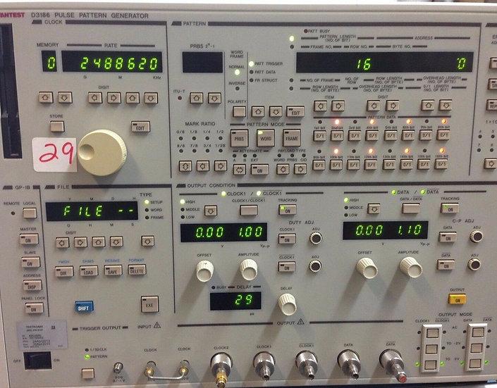 Advantest D3186 W 10,70 Pulse Generator 12 Ghz