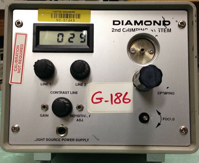 Diamond 2nd Crimping System 221-100-036V002 110V 60Hz