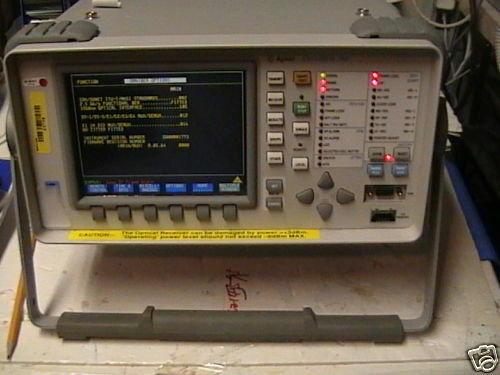 Agilent 37718A Omni-Ber 718  Communications Performance
