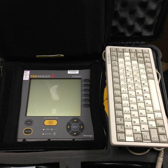 Tektronix TekRanger 2 TFS3031 OTDR Fiber Fault Locator  w options