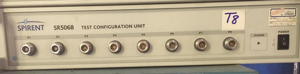Spirent SR5068 Test Configuration Unit