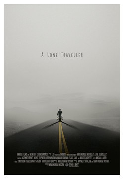A Lone Traveller Poster