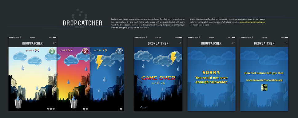 Mobile Game Advertising [Innovative Media] for www.rainwaterharvesting.org(proposed)