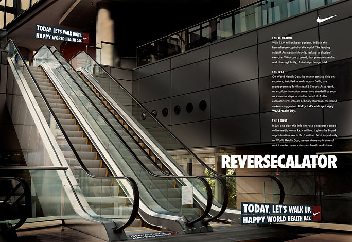 Ambient Marketing for Nike