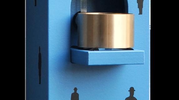 BONJOUR MONSIEUR MAGRITTE - azzurro