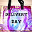 Thumbnail: Holographic Glitter Delivery Day Tote