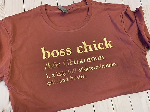 Boss Chick Crop/Tee