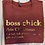 Thumbnail: Boss Chick Crop/Tee
