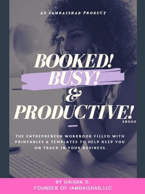 Booked, Busy & Productive eBook