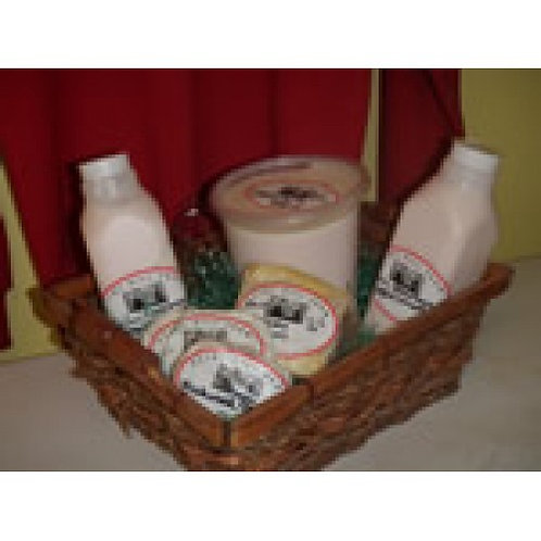 Gift Basket- Cheeses of the Month