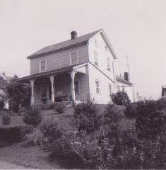 Farm house before Flint Hill Road
