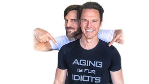 """Aging Is For Idiots"" - Tony Horton"