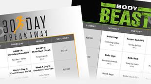 30 Day Breakaway Hybrid Calendars