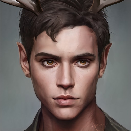 Fae Rising Trilogy Temir Character Headshot Image