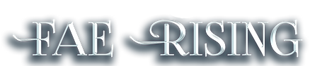 Fae Rising New Adult High Fantasy Series Primary Title Logo