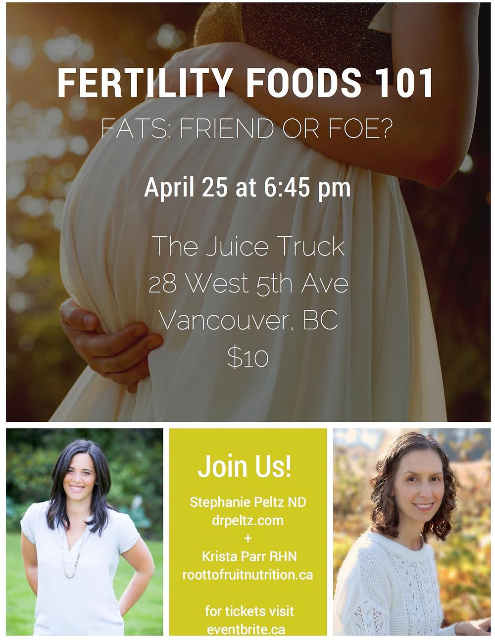 Fertility Foods 101