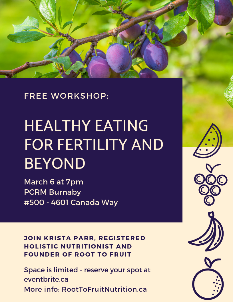 Healthy Eating for Fertility and Beyond