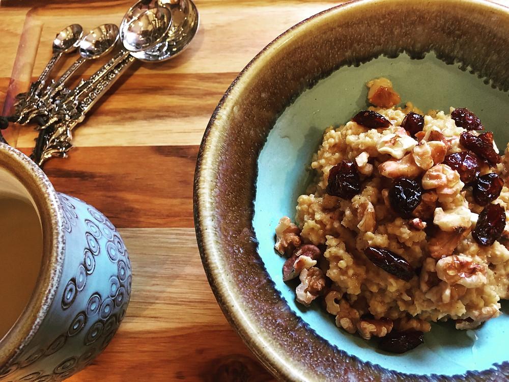Millet & Pumpkin Porridge