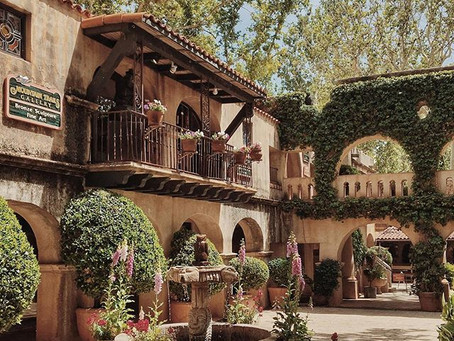 Mountain Trails Gallery at Tlaquepaque in Sedona can be found in KAYAK's Sedona Travel Guide