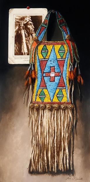 Pride of the Plateau - Nez Perce Mirror Bag