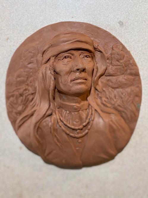 Apache (Wall plaque precast)