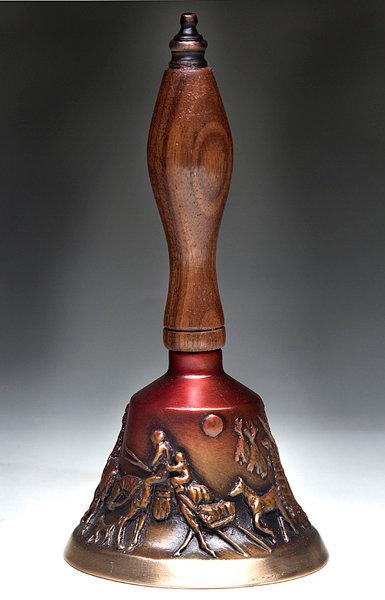 Indian Camp Bell by Deborah Copenhaver Fellows