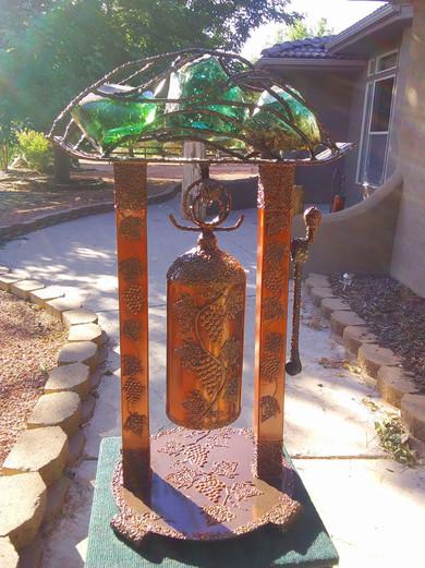 Grapes Tabletop Celebration Bell